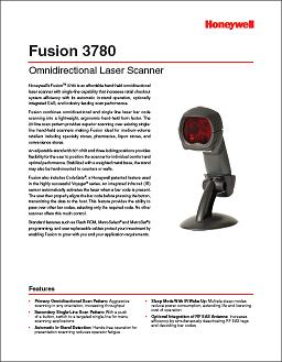 Honeywell MS3780 Fusion Scanner.
