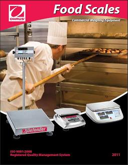 Ohaus Food Service Scales.